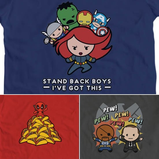 Superheroes Tees Too Kawaii For Words