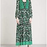 Claudie Pierlot Floral-Print Crepe Dress