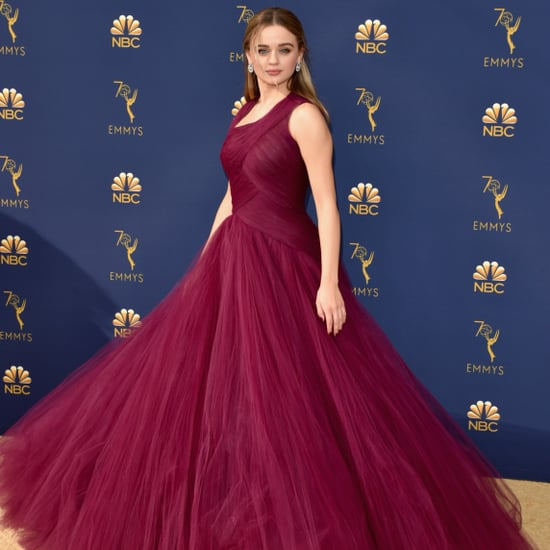 Joey King in Zac Posen Dress at the 2018 Emmys