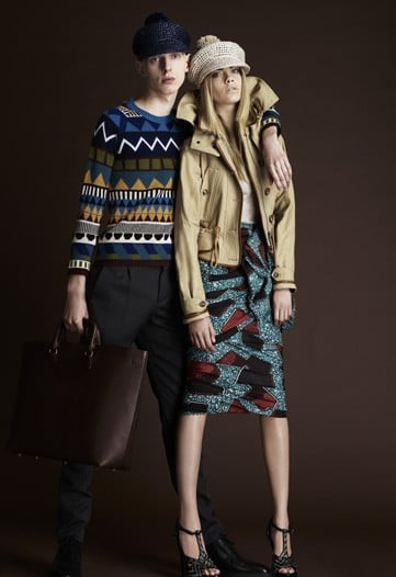 Burberry Resort 2012
