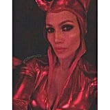 Jennifer Lopez as a Red Devil