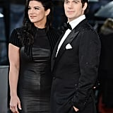 Henry Cavill and Gina Carano