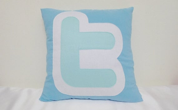 Twitter Cushion Cover