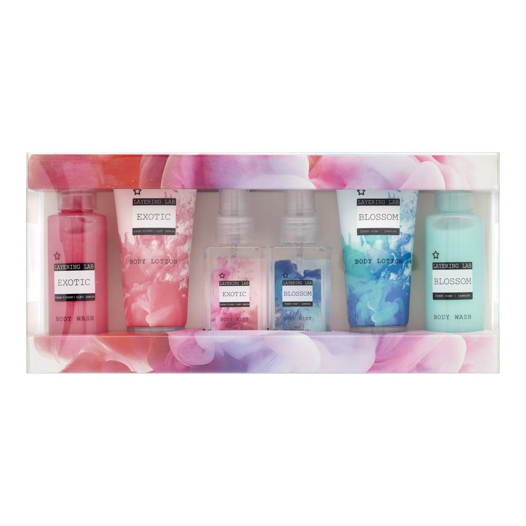 Superdrug Layering Lab Mix & Match Bath & Body Gift Set