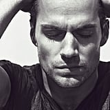 Henry Cavill got pensive for a photo shoot with Interview.  Source: Mikael Jansson/Interview