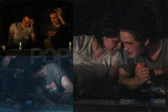 Photos of Robert Pattinson and Kristen Stewart at Kings of ...