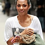 Freema Agyeman was on set in NYC while filming The Carrie Diaries.