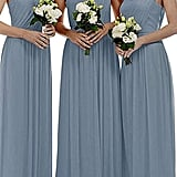 StayPretty Chiffon One Shoulder Bridesmaid Dress