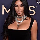 Kim Kardashian West at the 2019 Emmy Awards
