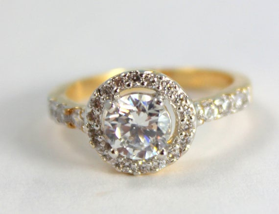 gold filled engagement ring 40 engagement rings