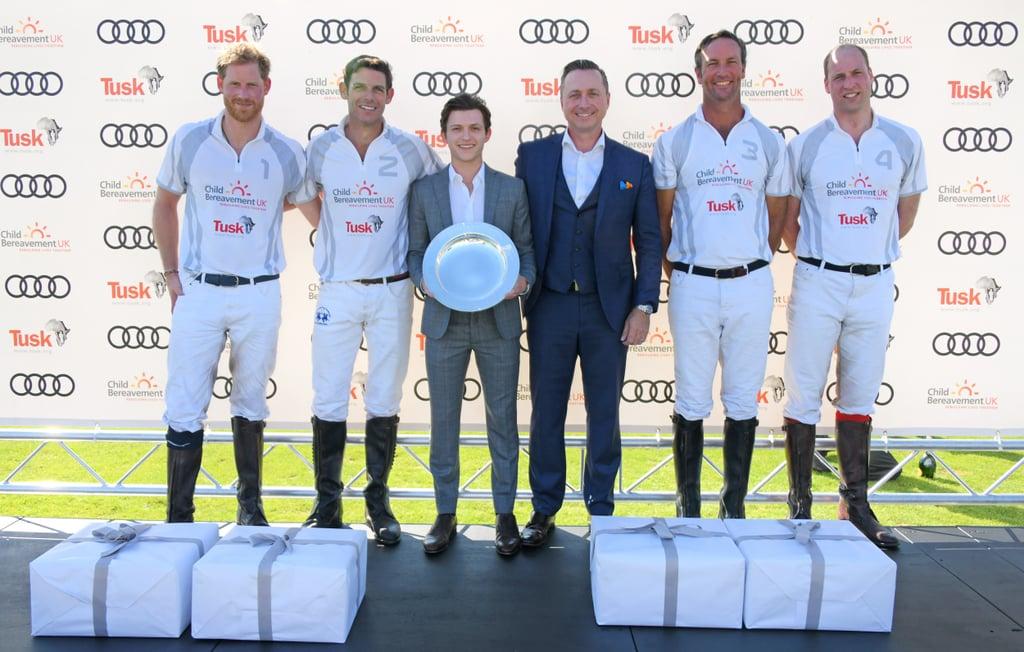 Meghan Markle and Prince Harry at Audi Polo Challenge 2018