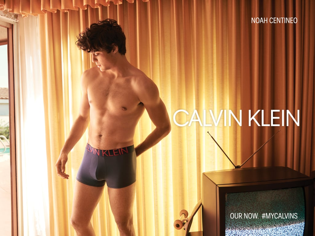 "If you thought Noah Centineo was sexy with his shirt on, a new set of underwear photos is about to get your heart racing. Our Netflix boyfriend appeared in his first-ever Calvin Klein Jeans and Underwear campaign for Spring 2019, which ""captures the raw and honest emotions and experiences of youth today."" Noah joined Shawn Mendes, Kendall Jenner, A$AP Rocky, and more stars to showcase ""their unapologetic attitudes and confidence"" and ""their willingness to embrace the spirit of youth,"" according to the brand. In the campaign, which was shot by Glen Luchford, the 22-year-old To All the Boys I've Loved Before actor rides his bike, rides his longboard, and hangs out with friends all while showing off his shirtless, toned body. When speaking about the youth-focused campaign, Noah said, ""I think youth is a thing, regardless of age, that looks at the world, that looks at a scenario, and flips it on its head and goes, 'That might not be right. How can we do that better?'"" Well, Noah's shirtless campaign photos might, in fact, flip you on your head! Read on to see all of Noah's Calvin Klein Spring 2019 campaign photos, and keep a fire extinguisher handy.      Related:                                                                                                           These Hot Guys Will Keep You Warm All Winter Long — Thanks, Netflix"