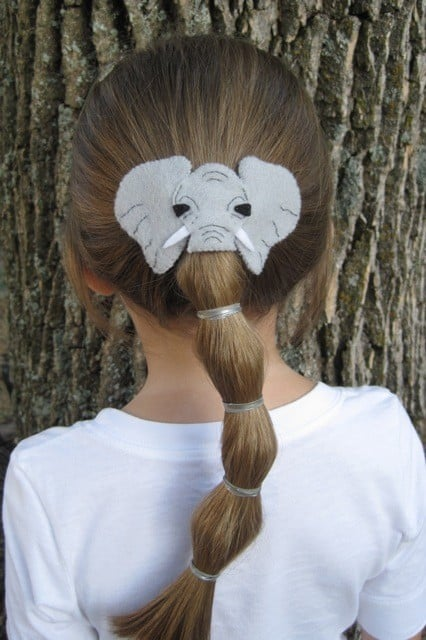 An Elephant Crazy Hair Day Ideas Popsugar Moms Photo 25