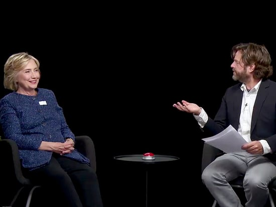 Hillary Clinton Gets Grilled by Zach Galifianakis on Between Two Ferns