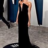 Sara Sampaio at the Vanity Fair Oscars Afterparty 2020