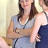 Jennifer Garner Grabs a Pal For a Shopping Trip to the Apple Store