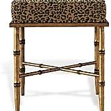 Leopard Stool ($780)