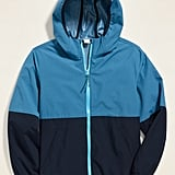 Old Navy Color-Blocked Built-In Flex Hooded Zip Jacket