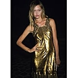 "Sasha Pivovarova wore a high-shine Roberto Cavalli cocktail dress to the designer's 40th anniversary party during Spring 2011 Paris Fashion Week. Shop the look: <iframe src=""http://widget.shopstyle.com/widget?pid=uid5121-1693761-41&look=4300086&width=3&height=3&layouttype=0&border=0&footer=0"" frameborder=""0"" height=""244"" scrolling=""no"" width=""286""></iframe>"
