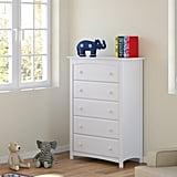 Stork Craft Kenton 5 Drawer Universal Dresser