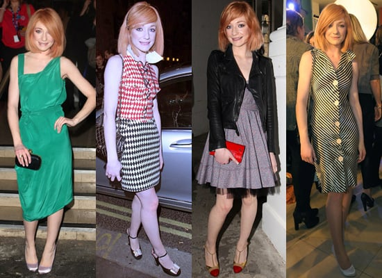 Nicola Roberts at London Fashion Week