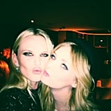 Anne V. met up with Lydia Hearst at an event. Source: Twitter user AnneV