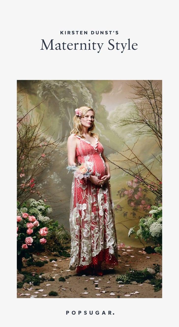 Kirsten Dunst Pregnancy Style