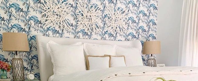 Before and After Photos of Wallpaper Decor