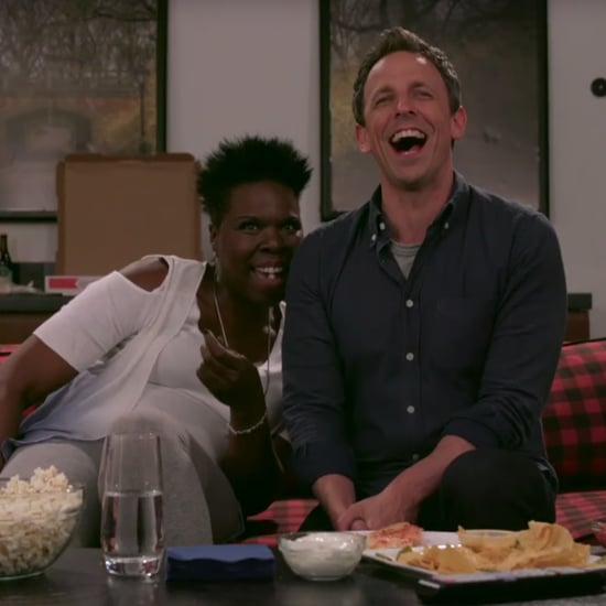 Seth Meyers and Leslie Jones Watch Game of Thrones Video