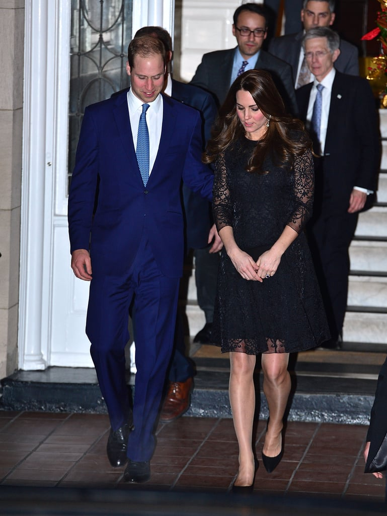 The Duke and Duchess Stepped Out For a Private Event on Sunday Night