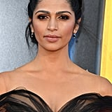 Camila Alves Wearing Yanina Couture at the Sing Premiere