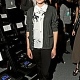 The adorable Shailene Woodley sported a sweet, preppy style for Honor.