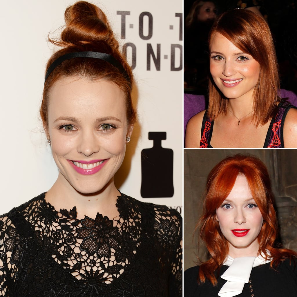 How To Choose The Right Red Hair Color Popsugar Beauty