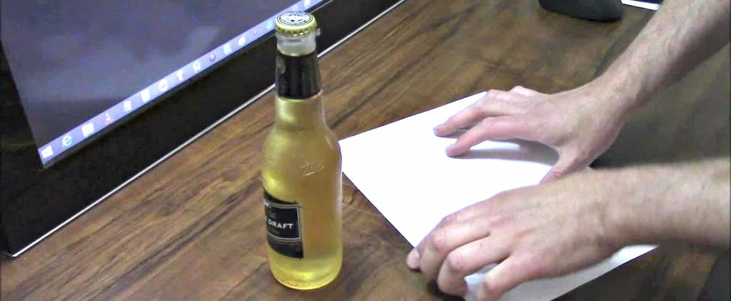 Yes, You Can Open a Beer Bottle With a Piece of Paper — Watch This Clever Life Hack