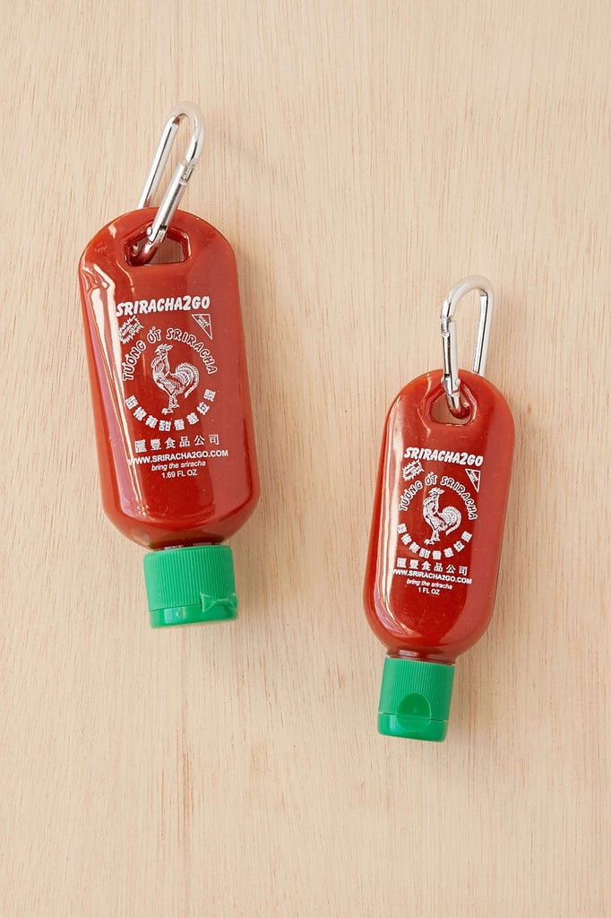 Sriracha To-Go Bottle Keychain ($8)