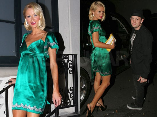 Paris Hilton and Benji Madden Pregnancy Rumors False