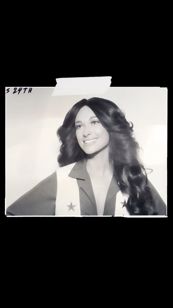 Kacey Musgraves Dallas Cowboys Halloween Costume Pictures