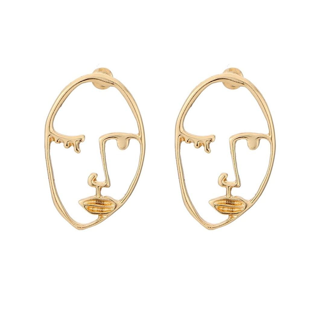 Zealmer Face Earrings