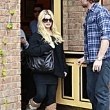 Jessica Simpson Follows Up Game Night With a Lunch Date