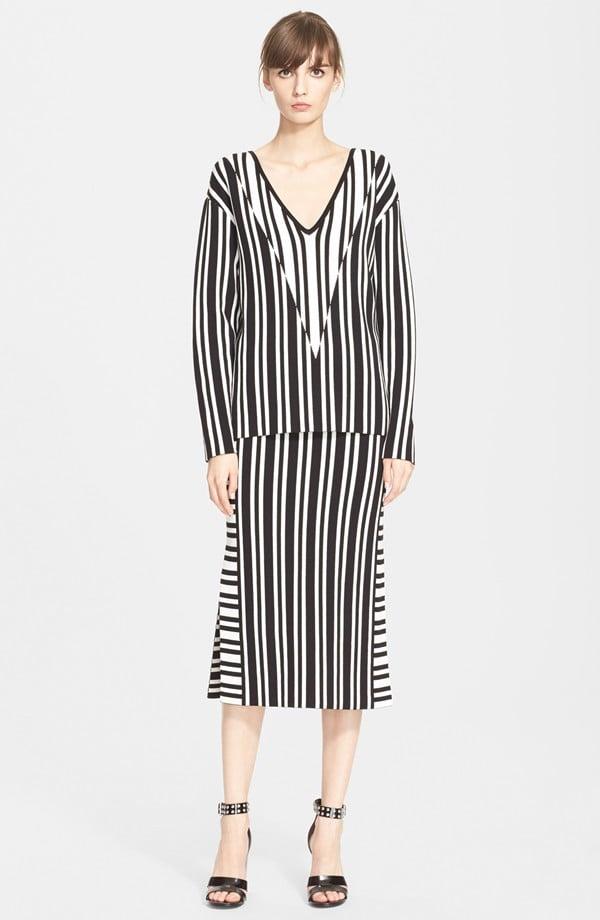 "Tanya Taylor ""Johnny"" Stripe Sweater ($158, originally $395)"