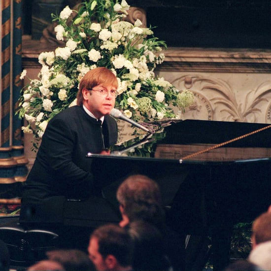 "Elton John Singing ""Candle in the Wind"" at Diana's Funeral"
