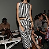 Nicole Trunfio showed her support for Aussie designer Dion Lee.
