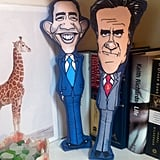 Obama and Romney Dog Toys ($24 each)