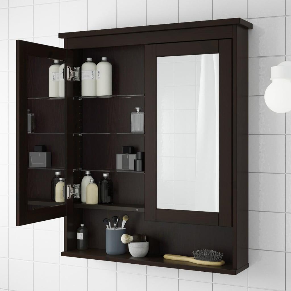 Hemnes Mirror Cabinet With Doors