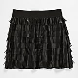Little Mass Faux Leather Skirt