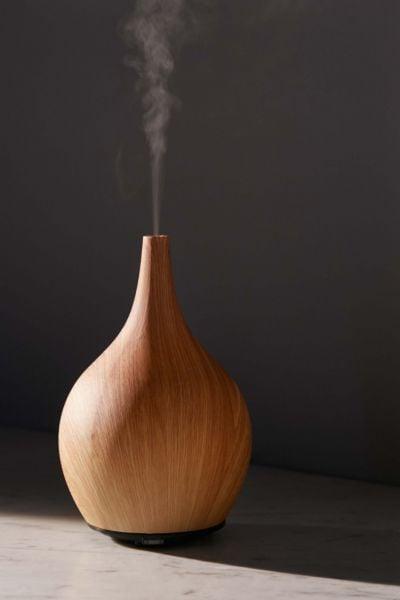 Earth Luxe Ultrasonic Ceramic Wood Atomizer Diffuser