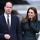 Prince William and Kate Middleton Visit Dundee January 2019