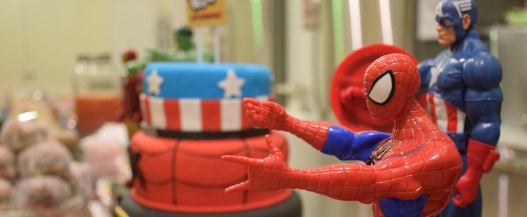 Superhero-Themed Birthday Party Ideas