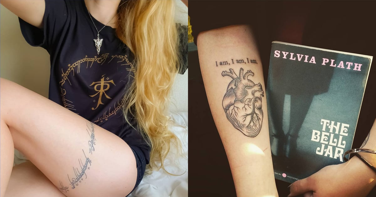 Read 'Em and Weep! 101 Tattoos Inspired by Famous Books
