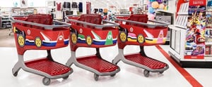 No, You're Not Dreaming — Target's Shopping Carts Are Now . . . Mario Karts?